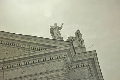 Photograph - Among The Saints Of Rome by JAMART Photography
