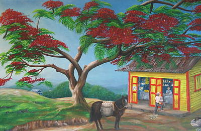 Campesino Painting - Amor De Campesino by Toyo Perez