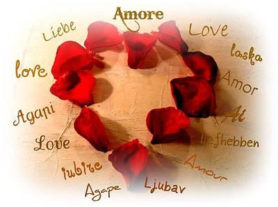 Amore  Art Print by Kathy Bucari