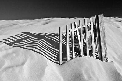 Dune Photograph - Amoreira Shadows by John McKinlay
