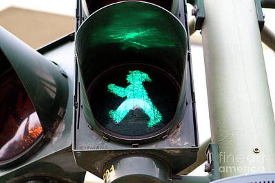 Photograph - Ampelmannchen by John Rizzuto