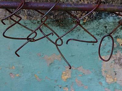 Representative Abstract Photograph - Ampersands Hooking Up At The Bar by Cheryl Kurman