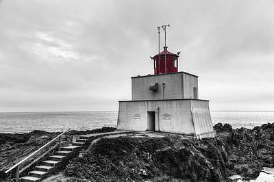 Photograph - Amphitrite Point Lighthouse by Mark Kiver