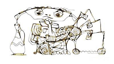 Digital Art - Amphora 3961 by Marek Lutek
