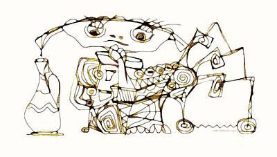 Digital Art - Amphora 3962 by Marek Lutek