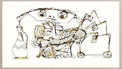 Digital Art - Amphora 3963 by Marek Lutek