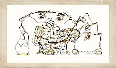 Digital Art - Amphora 3964 by Marek Lutek