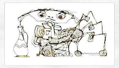 Digital Art - Amphora 3965 by Marek Lutek