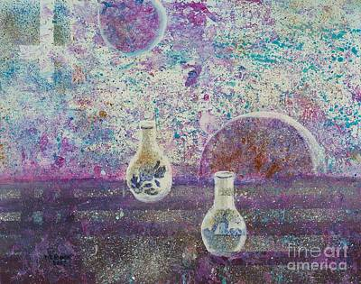 Painting - Amphora-through The Looking Glass by Marlene Book