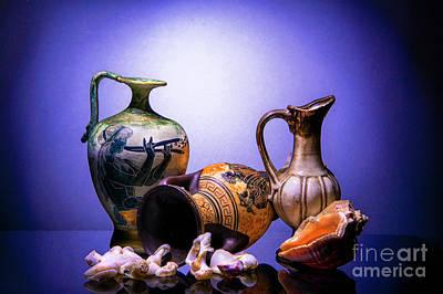 Amphoras And Seashells Original