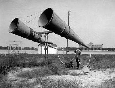 Bolling Photograph - Amplifiers, 1921 by Granger