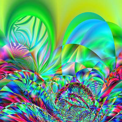 Digital Art - Ampliments by Andrew Kotlinski