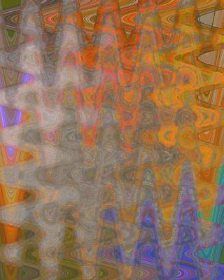 Layered Digital Painting - Amplitude by Julie Niemela