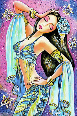 Painting - Amrita by Eva Campbell