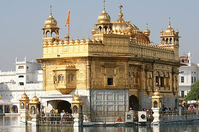 Art Print featuring the photograph Amritsar by Andrei Fried