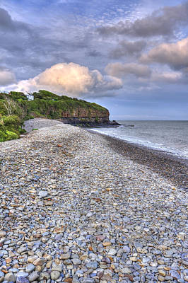 Photograph - Amroth Beach by Hazy Apple