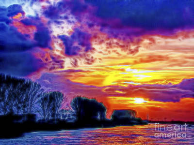 Photograph - Amstel Glow by Rick Bragan