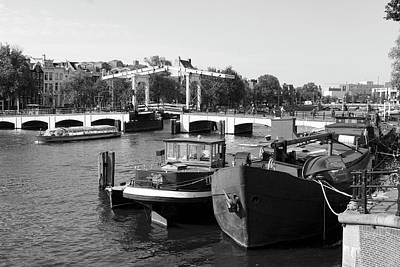 Photograph - Amstel River Amsterdam  by Aidan Moran