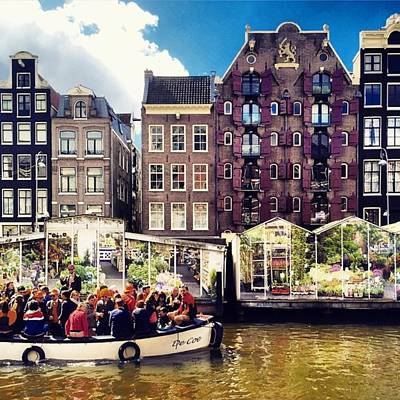 Koningsdag Photograph - Amsterdam - Flower Market #market by Alessandro Parca
