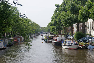 Photograph - Amsterdam 09 by Steve Breslow