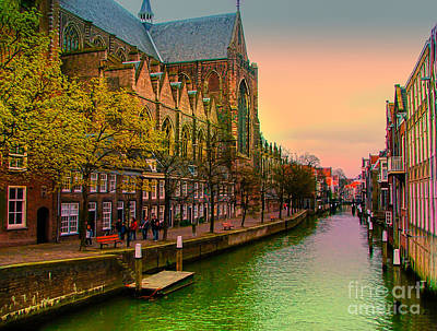Architecture Photograph - Amsterdam 2005 by Claudia M Photography