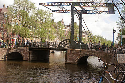 Photograph - Amsterdam 25 by Steve Breslow