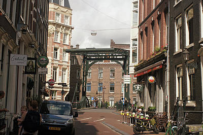 Digital Art - Amsterdam 26 by Steve Breslow