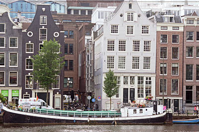 Digital Art - Amsterdam 28 by Steve Breslow