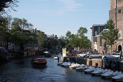 Photograph - Amsterdam 33 by Steve Breslow