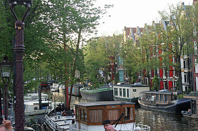 Photograph - Amsterdam 35 by Steve Breslow