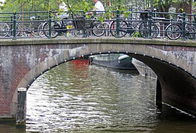 Digital Art - Amsterdam 36 by Steve Breslow