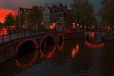 Photograph - Amsterdam 5 by Thomas Hall