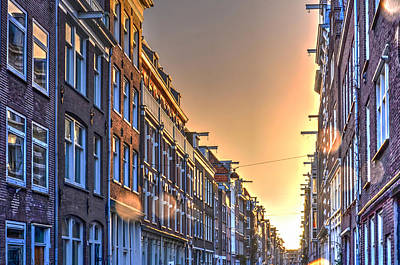 Photograph - Amsterdam After The Rain by Frans Blok