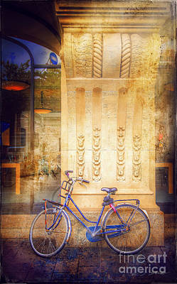 Photograph - Amsterdam Apple Bike by Craig J Satterlee