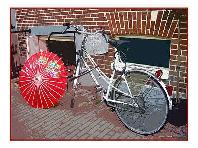 Photograph - Amsterdam Bike by Joan  Minchak