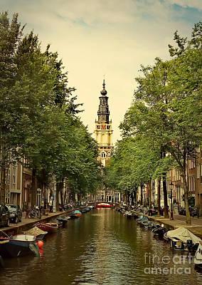 Photograph - Amsterdam by Binka Kirova