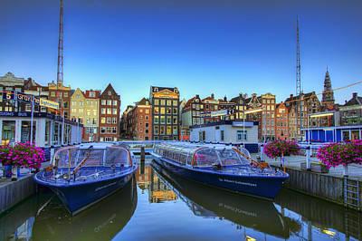 Amsterdam Photograph - Amsterdam Blue by Nadia Sanowar