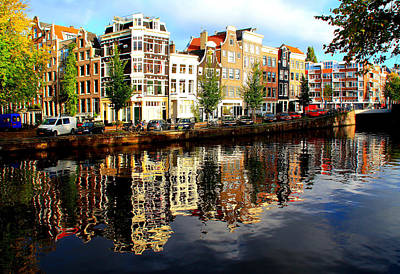 Photograph - Amsterdam By Day by Pat Moore