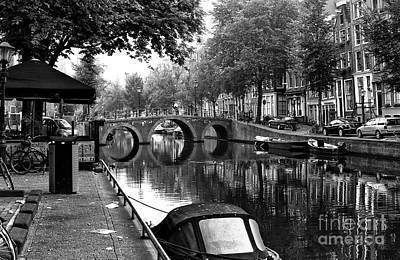 Photograph - Amsterdam Canal Circles 2014 by John Rizzuto