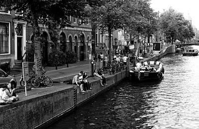 Photograph - Amsterdam Canal Daze 2014 by John Rizzuto