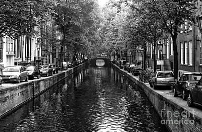 Photograph - Amsterdam Canal Living 2014 by John Rizzuto