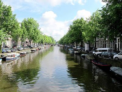 Photograph - Amsterdam Canal by Loretta Luglio