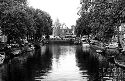Photograph - Amsterdam Canal Wonders 2014 by John Rizzuto