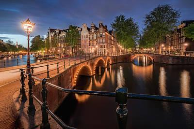 Photograph - Amsterdam Canals by Edwin Mooijaart