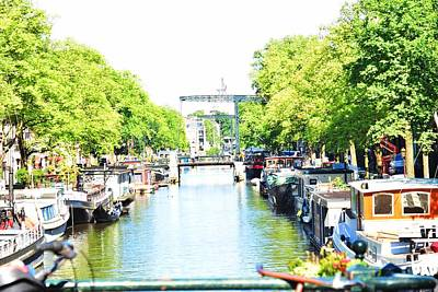 Photograph - Amsterdam Canals by Puzzles Shum