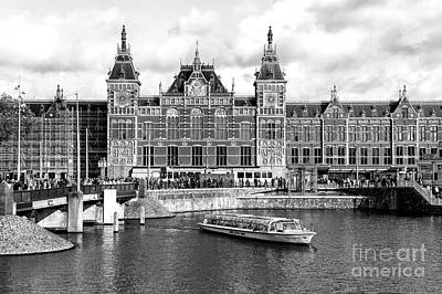 Photograph - Amsterdam Centraal Station by John Rizzuto