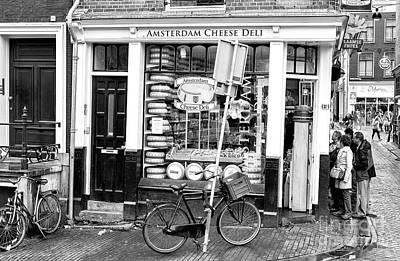 Photograph - Amsterdam Cheese Deli by John Rizzuto