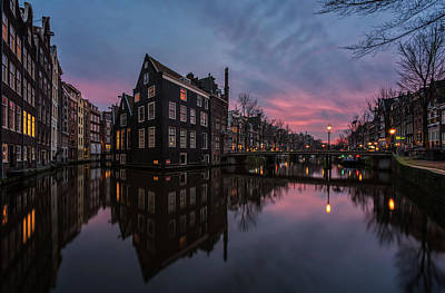Nederland Photograph - Amsterdam Cityscape by Reinier Snijders