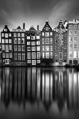 Holland Wall Art - Photograph - Amsterdam, Damrak II by Ivo Kerssemakers