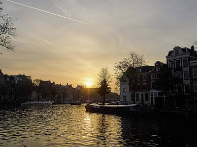 Photograph - Amsterdam Evening by Jouko Lehto